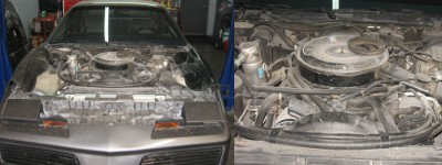 pontiac engine restore before